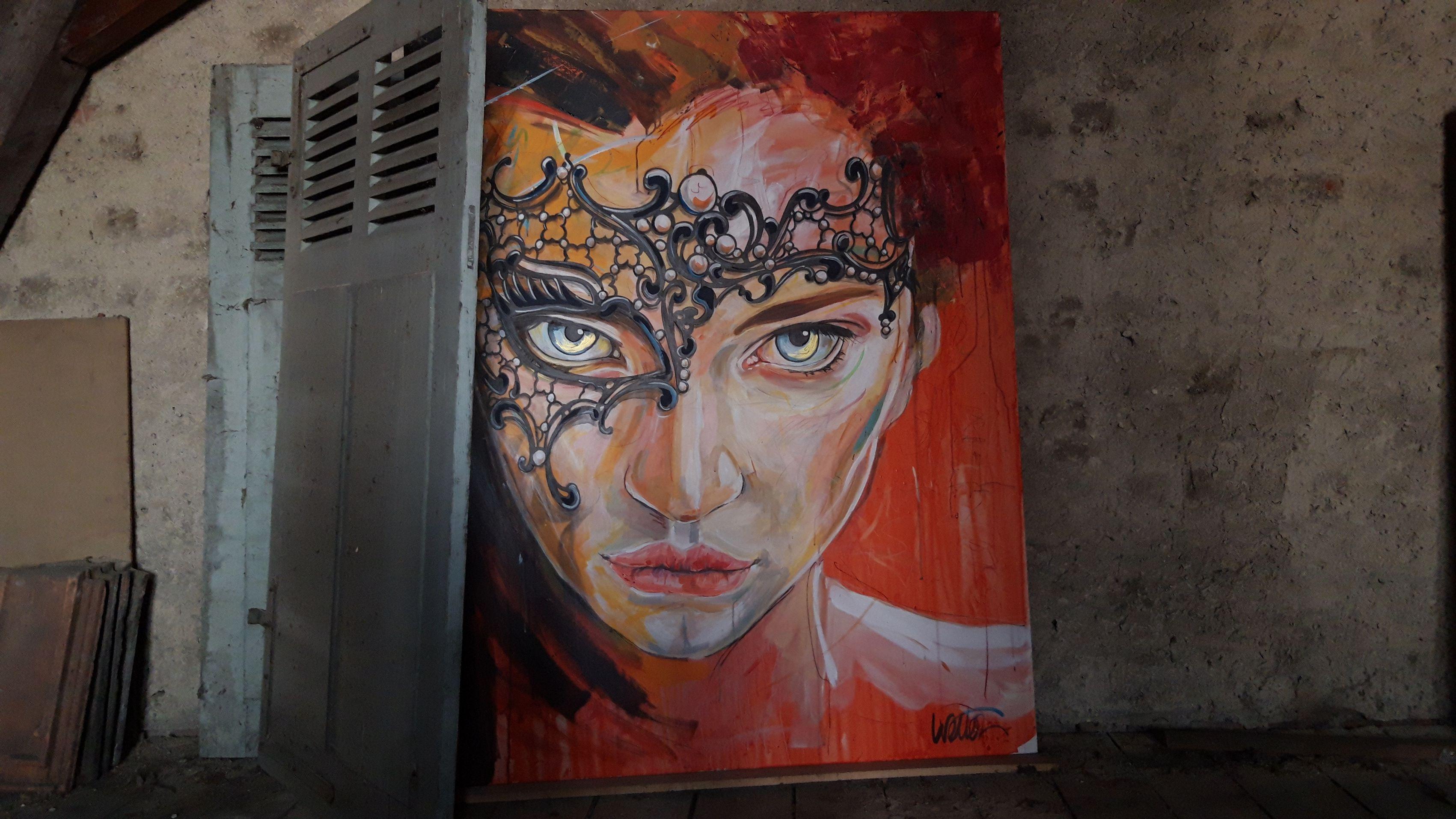 nuit vénitienne toile 120x150cm
